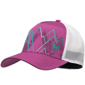 Buff Trucker Tech Cap Solid Violet